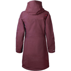 Didriksons 1913 Thelma Parka Femme, wine red